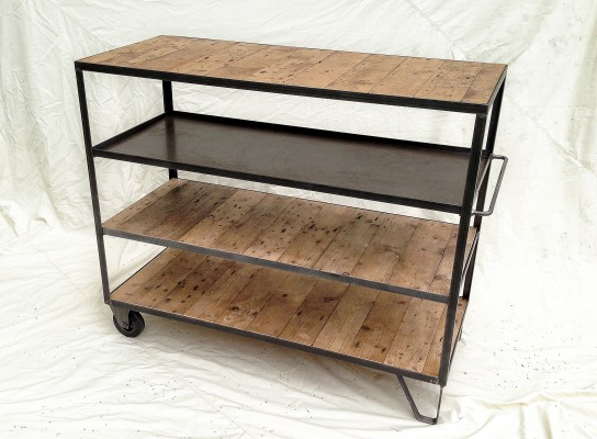 Berg+Berg, modern industrial furniture - Trolleys